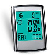 billige Sykkelcomputere og -elektronikk-WEST BIKING® Sykkelcomputer Sykling Trådløs Kalorier brent Speedometer LED Pulsmålere Kilometerteller Skan Hastighetssensor Temperatur