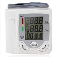 tanie Ulepszanie domu-ciśnieniomierz nadgarstkowy monitor zdrowotny czas łatwy w użyciu 1-paczka cyfrowy wyświetlacz włącz / wyłącz