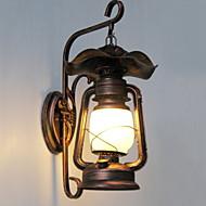 baratos Arandelas de Parede-Vintage Luminárias de parede Trilho / Corredor Metal Luz de parede 220-240V 20W