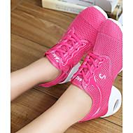 baratos Sapatilhas de Dança-Mulheres Tênis de Dança Arrastão Têni Sem Salto Personalizável Sapatos de Dança Branco / Preto / Pêssego / Interior