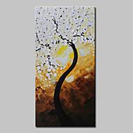 billiga Blom-/växtmålningar-mintura® handmålade rika träd oljemålning på duk moderna abstrakta blommor väggkonst bild för heminredning redo att hänga