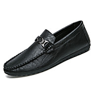 Muškarci Cipele Guma Proljeće Jesen Mokasine Natikače i mokasinke za Vanjski Crn Sive boje Deva