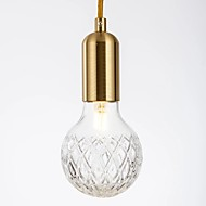 billige Takbelysning og vifter-QIHengZhaoMing Lysekroner Omgivelseslys Messing Glass Glass Øyebeskyttelse 110-120V / 220-240V Pære Inkludert / G9