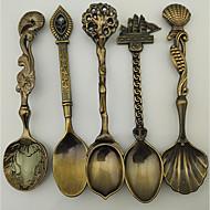 levne Stolovací nádobí-Starožitný Klasické Nerez Polévková lžíce, 1 sada