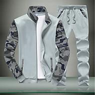 Herre Langærmet Høj krave Sweatshirt - Geometrisk