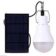 levne Svítilny-S-1200 LED žárovky LED 110lm s baterií Solární pohon / Úspora energie Kempování a turistika / Každodenní použití Bílá