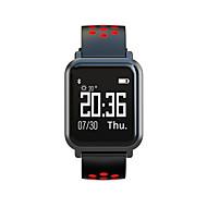 お買い得  スマートウォッチ-スマート·ウォッチ 心拍計 消費カロリー APPコントロール カメラコントロール メッセージ受信通知 歩数計 睡眠サイクル計測器 端末検索 目覚まし時計 座りがちなリマインダー 着信通知 ブルートゥース 4.0 Android 4.4 iOS