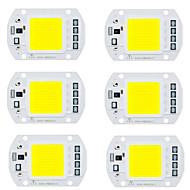 billige belysning Tilbehør-6pcs Led Brikke Aluminium Bulb Accessory