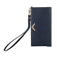 billiga Mobil cases & Skärmskydd-fodral Till Sony Xperia XZ1 Xperia XA1 Korthållare Plånbok med stativ Lucka Fodral Ensfärgat Hårt PU läder för Sony Xperia XZ1 Sony