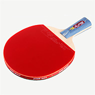 tanie Tenis stołowy-DHS® E406 Ping Pang / Rakiety tenis stołowy Drewniany / Gumowy 4 gwiazdek Krótki uchwyt / Pryszcze Krótki uchwyt / Pryszcze