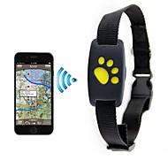 Χαμηλού Κόστους Περιλαίμια σκύλων και λουράκια-Σκύλος Έξυπνοι ιχνηλάτες Locater GPS Positioning σε πραγματικό χρόνο Αδιάβροχο&Ενάντια στην Σκόνη PP+ABS Μαύρο