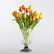 billige Kunstig Blomst-Kunstige blomster 10 Afdeling Europæisk Stil / Moderne Tulipaner Bordblomst