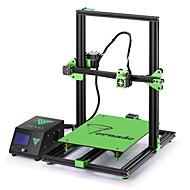 baratos Impressoras 3D-tevo® tornado diy 3d kit de impressora 300 * 300 * 400mm tamanho grande de impressão 1.75mm 0.4mm bocal de suporte de impressão off-line - 110v