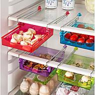 baratos -1conjunto Prateleiras e Suportes Plástico Gadget de Cozinha Criativa Organização de cozinha