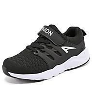 baratos Sapatos de Menino-Para Meninos Sapatos Borracha Primavera / Verão Conforto Tênis para Preto / Azul Escuro / Azul