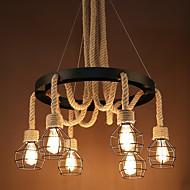 billige Bestelgere-6-Light Cluster Anheng Lys Nedlys - Mini Stil, 110-120V / 220-240V Pære ikke Inkludert / 5-10㎡ / FCC / E26 / E27
