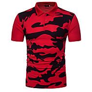 Tynd Herre - camouflage Aktiv Militær Polo