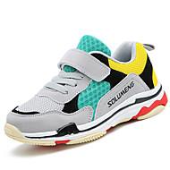 baratos Sapatos de Menino-Para Meninos Sapatos Tricô / Arrastão / Materiais Customizados Verão / Outono Conforto Tênis Corrida / Atletismo / Caminhada Cadarço /