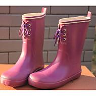 baratos Sapatos de Menino-Para Meninos / Para Meninas Sapatos Borracha Primavera / Outono Botas de Chuva Botas para Azul Escuro / Roxo / Amarelo