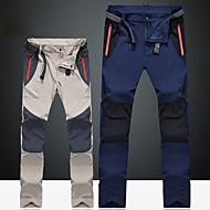cheap Camping & Hiking-Men's Hiking Pants Outdoor Rain-Proof, Fast Dry, Windproof Winter Pants / Trousers Skiing / Hiking / Camping / Anatomic Design