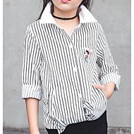 Djeca Djevojčice Prugasti uzorak Dugih rukava Majica