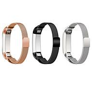 billiga Smart klocka Tillbehör-Klockarmband för Fitbit Alta Fitbit Milanesisk loop Rostfritt stål Handledsrem