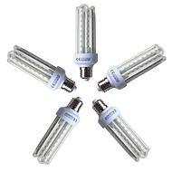 billige Kornpærer med LED-5pcs 15 W 1200 lm E26 / E27 LED-kornpærer T 72 LED perler SMD 2835 Varm hvit 220-240 V