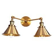 preiswerte -Sichtschutz Retro / Modern / Zeitgenössisch Wandlampen Esszimmer / Shops / Cafés Metall Wandleuchte 110-120V / 220-240V 60W