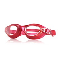 billiga Swim Goggles-Simglasögon Simglasögon Justerbara / Infällbar Simning Polykarbonat Polykarbonat Svart Blå Fuchsia Röd Svart Blå