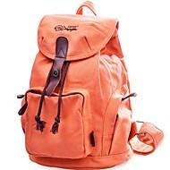tanie Plecaki-Dla obu płci Torby plecak Wzorek / Nadruk na Casual Na wolnym powietrzu Na każdy sezon Orange Beige Dark Blue Light Gray Granatowy
