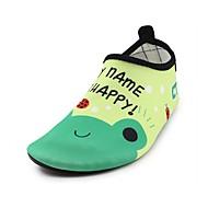 baratos Sapatos de Menina-Para Meninos / Para Meninas Sapatos Elastano Primavera Conforto Mocassins e Slip-Ons Estampa Animal para Verde