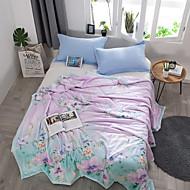 baratos Colchas e Acolchoados-Confortável - 1 Colcha / 1 Cobertura de Cama Verão Poliéster Floral