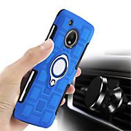 billiga Mobil cases & Skärmskydd-fodral Till Motorola G5 Plus / G4 Plus Stötsäker / Ringhållare Skal Enfärgad Hårt PC för Moto X4 / Moto G5s Plus / Moto G5s / Moto G5 Plus / Moto G4 Plus