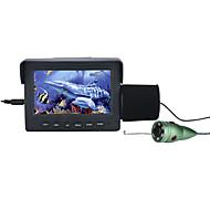 billige Overvåkningskameraer-15m 1000tvl fiskfinder undervannsfiske kamera 4.3 lcd monitor 6pcs 1w ir ledet nattesynkamera for fiske