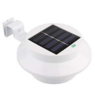 tanie Światła drogi-YWXLIGHT® 1 szt. 1 W Światła do trawy Wodoodporny / Na energię słoneczną / Kontrola światła Ciepła biel / Zimna biel 3.7 V Oświetlenie zwenętrzne 3 Koraliki LED