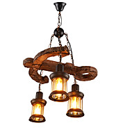 billige Takbelysning og vifter-Lysekroner Nedlys - Mini Stil, Vintage Land, 110-120V 220-240V Pære ikke Inkludert