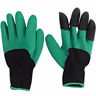 billiga Uteplats-2pcs Plast Nylon Handske Med klor