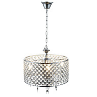 cheap Ceiling Lights & Fans-Lightinthebox Modern / Contemporary Chandelier Ambient Light - Crystal, 110-120V 220-240V Bulb Not Included