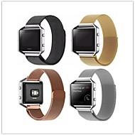 billiga Smart klocka Tillbehör-Klockarmband för Fitbit Blaze Fitbit Milanesisk loop Metall Handledsrem