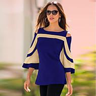 ieftine -Pentru femei Tricou Șic Stradă - Bloc Culoare