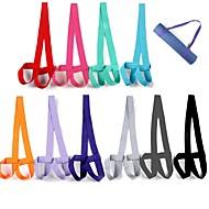 billige Matter-Bærestropp til yogamatte / Bæreveske og bærestropp til yogamatte Justerbar Lengde, Holdbar, stretching Ren bomull Til Lys Lilla, Rosa, Mørk Lilla