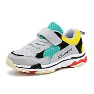 baratos Sapatos de Menina-Para Meninos / Para Meninas Sapatos Tricô / Cetim / Tule Primavera / Outono Conforto / Primeiros Passos Tênis Corrida para Preto /