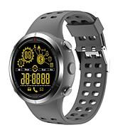 tanie Inteligentne zegarki-Inteligentny zegarek Wodoszczelny Spalone kalorie Krokomierze Obsługa aparatu Wielofunkcyjne Obsługa wiadomości Informacje Długi czas