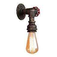 baratos Arandelas de Parede-Sótão mini estilo industrial retro arandela restaurante e bar de metal da tubulação de água da lâmpada de parede pintado acabamento