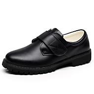 tanie Obuwie chłopięce-Dla chłopców Obuwie Skórzany Wiosna Comfort Mokasyny i pantofle na Black