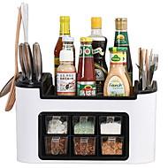 Køkkenorganisation Opbevaringskasser Plastik Nem at Bruge 1pc