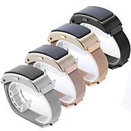 billiga Smart klocka Tillbehör-Klockarmband för Huawei B3 Huawei Milanesisk loop Rostfritt stål Handledsrem