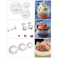 baratos Artigos de Forno-Ferramentas bakeware Plástico Alta qualidade Para utensílios de cozinha Moldes de bolos