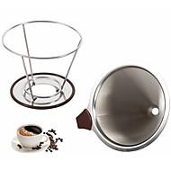 billige Kaffe og te-rustfritt ny / Kreativ Kjøkken Gadget / med Cup Stand 1pc Kaffe og te / Tesil / Kaffefilter