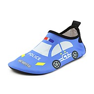 baratos Sapatos de Menino-Para Meninos / Para Meninas Sapatos Elastano Verão Conforto Mocassins e Slip-Ons Estampa Animal para Vermelho / Azul